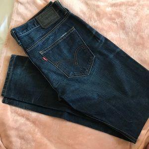 Never worn. Levi's jeans